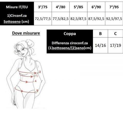 tabella misurereggiseno protesi anita