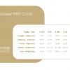 Calze Elastiche terapeutiche Gambaletto Ccl1 mm Hg 20-30 Laboratori Piazza tabella misure
