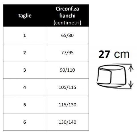 tabella misure pancera 674