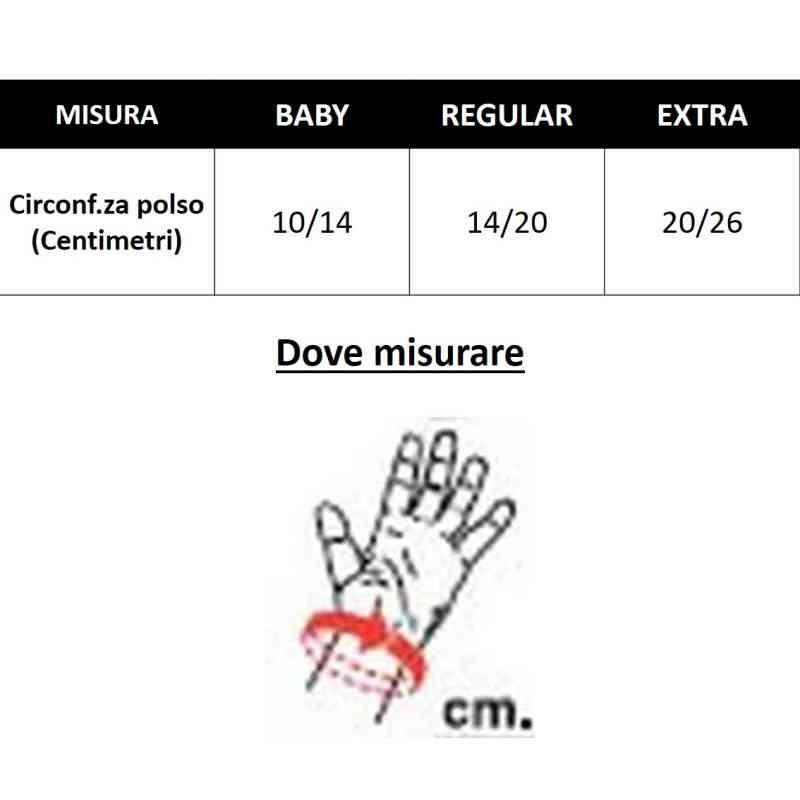tabella misure polso pavis