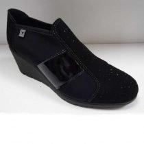 scarpa con tacco cinzia soft nere 1765hvw