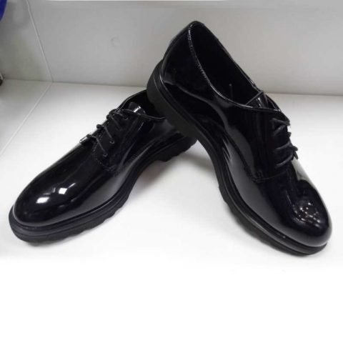 scarpa donna pregunta 24808vv nero lucido
