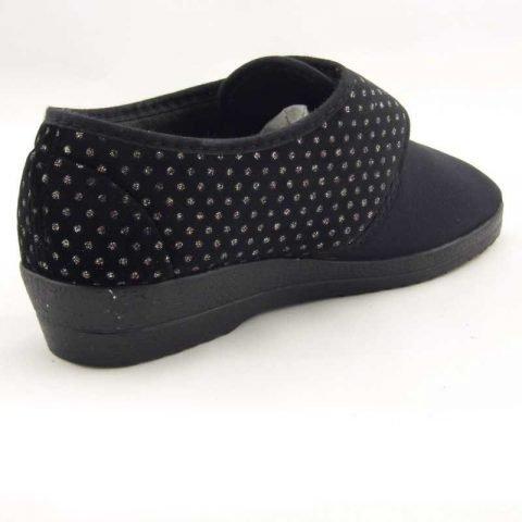 pantofola comoda gold star 511 nero 2