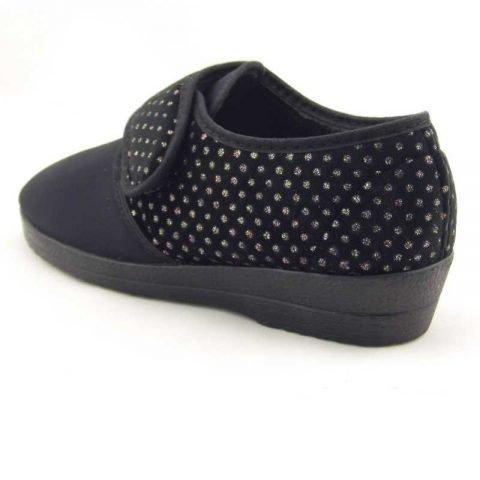 pantofola comoda gold star 511 nero 3