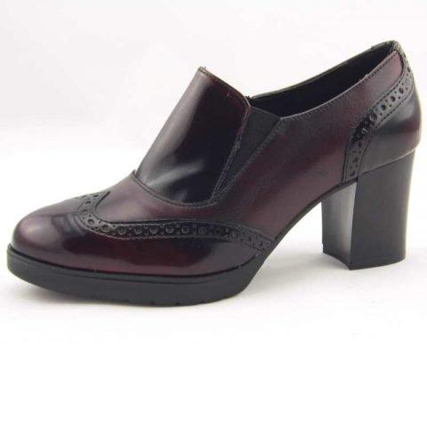 scarpe comode con tacco cinzia soft ial25931psb bordeaux 2