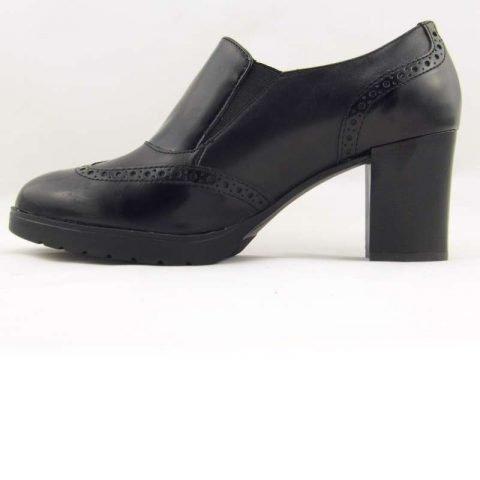 scarpe comode con tacco cinzia soft ial25931psb nero 4