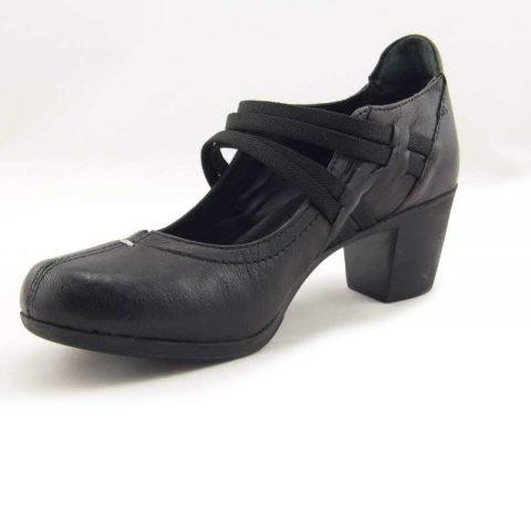 scarpe comode con tacco cinzia soft ibe1117 nero 3