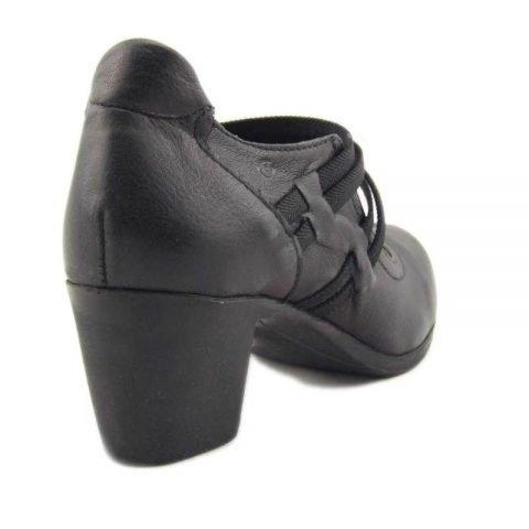 scarpe comode con tacco cinzia soft ibe1117 nero