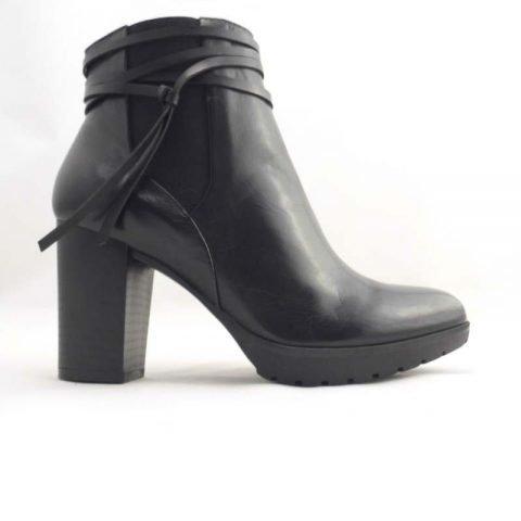 scarpe comode con tacco pregunta icb71 nero 2