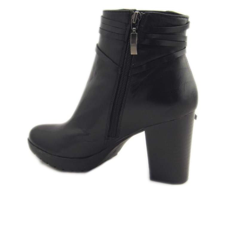 scarpe comode con tacco pregunta icb71 nero 4