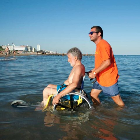 CARROZZINA PER DISABILI DA MARE SAND AND SEA OFFCARR 3