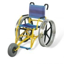 CARROZZINA PER DISABILI DA MARE SAND AND SEA OFFCARR 4