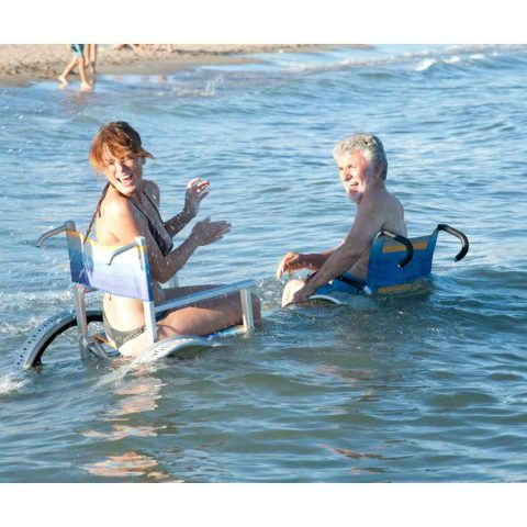 CARROZZINA PER DISABILI DA MARE SAND AND SEA OFFCARR 5