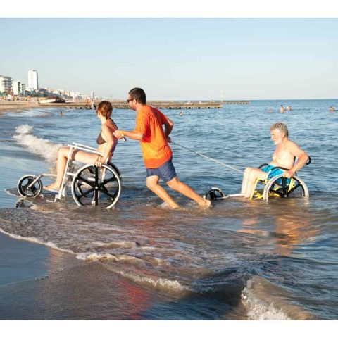 CARROZZINA PER DISABILI DA MARE SAND AND SEA OFFCARR 6