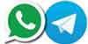 whatsapp-e-telegram