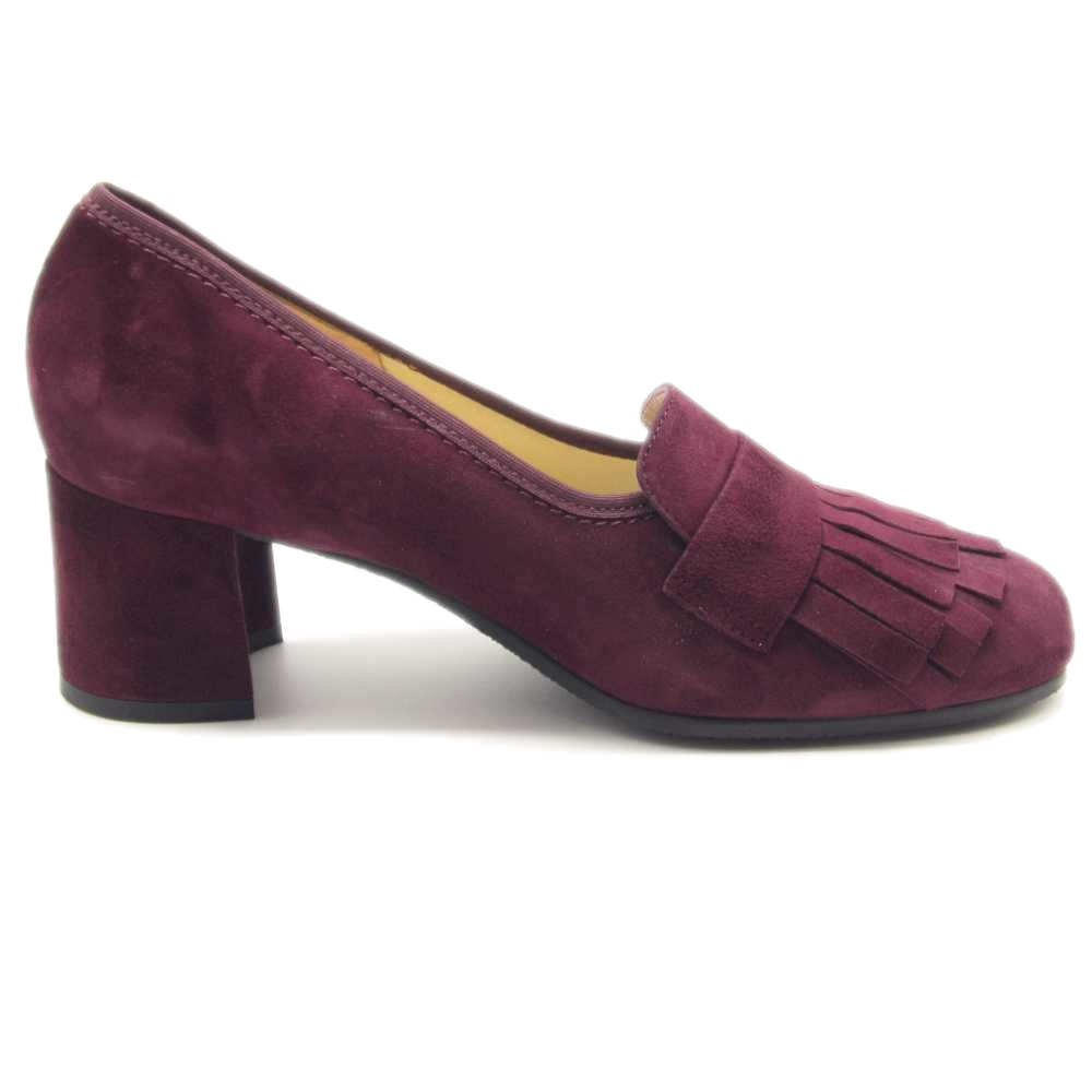 SCARPE ORTOPEDICHE MOCASSINO LOREN 60876 BORDEAUX 4