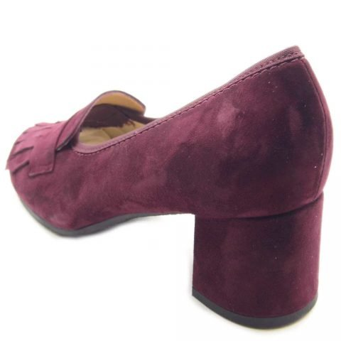 SCARPE ORTOPEDICHE MOCASSINO LOREN 60876 BORDEAUX 5